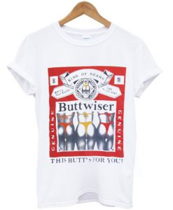 buttwiser t shirt