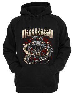 Asking Alexandria snake hoodie