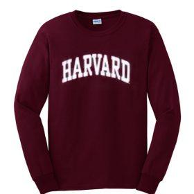 harvard maroon sweatshirt