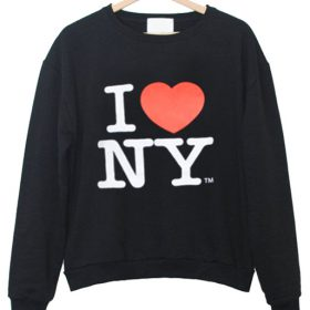 love new york sweatshirt