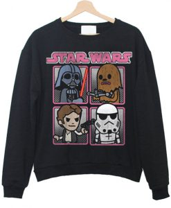star wars cartoon cute sweatshirt