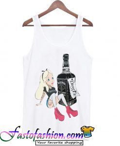 Alice In Wonderland Drink Tank Top