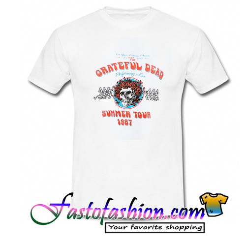 c3fb0325494c Grateful Dead Summer Tour 1987. Home   T Shirt