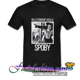 Relationship Goals Spoby T Shirt