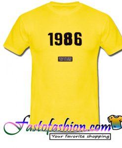 1986 T Shirt