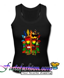 Aku Uka Aku Uka Crash Bandicoot Tank Top