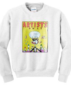 Artists Only Squidward Sweatshirt SU
