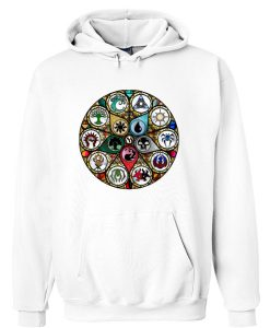 MTG Stained Glass Hoodie SU