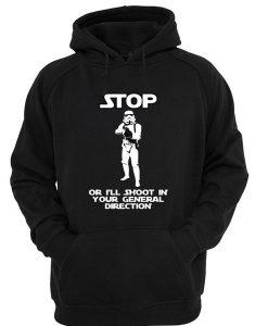 Stormtrooper Will Shoot! Hoodie SU