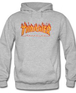 Thrasher Flame Logo Hoodie SU