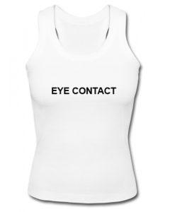eye contact tank top SU