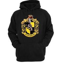 hufflepuff logo hoodie SU