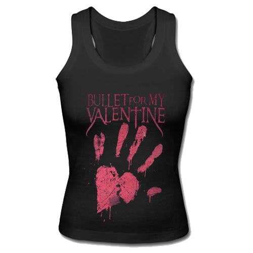 Bullet For My Valentine Bloody Hand Tank Top SU