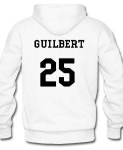 johnnie Guilbert 25 Hoodie Back SU