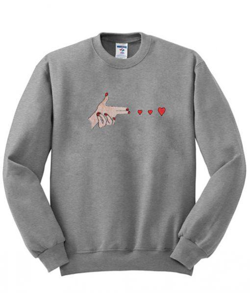 love you sweatshirt SU