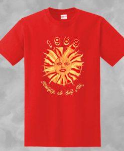 1969 SUMMER OF THE SUN T-SHIRT FOR MEN AND WOMEN