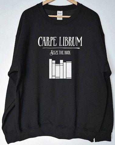Carpe Librum Sweatshirt