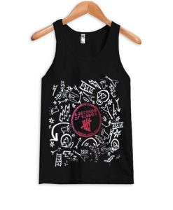 5 Seconds Of Summer band tank-top