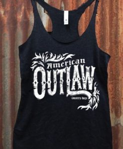 American Outlaw Racerback Tank top