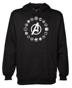 Avengers Members Hoodie