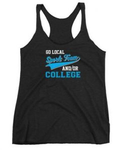 Go Local Sports Team Tank Top