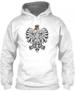 Limited Edition Eagle White Hoodie