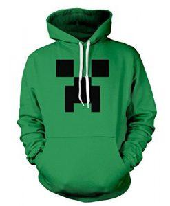Minecraft Creeper Hoodie