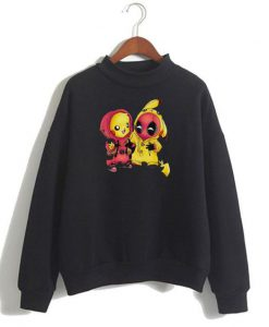 Pikachu Deadpool Sweatshirt