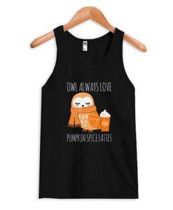 Pumpkin Spice Owl Tank Top