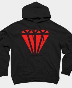 Red Diamond Hoodie