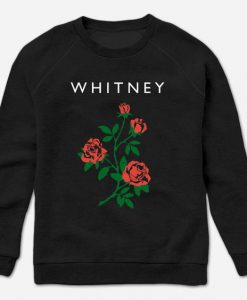 Rose Black Sweatshirt