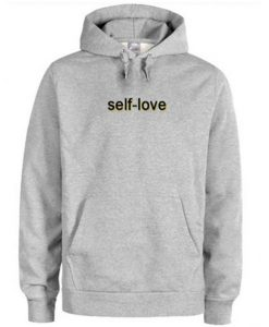 Self Love Grey Hoodie