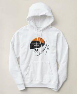 Sport girls' basketball hoodie
