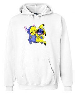 Stitch and Pikachu Hoodie