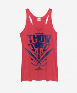 Thor Hammer Stamp Tank Top