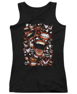 oker Laugh Repeat Black Tanktop