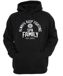Always Keep Fighting Hoodie ZNF08