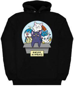 Anime Kittens Hoodie ZNF08
