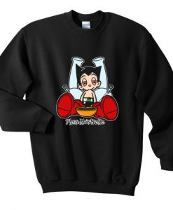 Astro boy blazed sweatshirt ZNF08