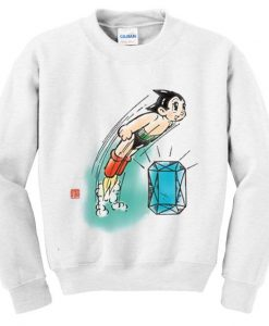 Astro boy diamond sweatshirt ZNF08