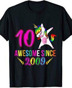 Awesome Sinc e 2009 T-shirt ZNF08