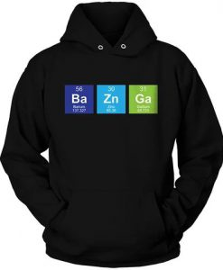 BAZINGA PERIODIC TABLE Hoodie ZNF08