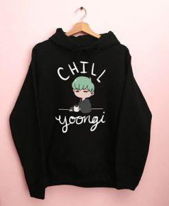 BTS Chill Yoongi Hoodie ZNF08