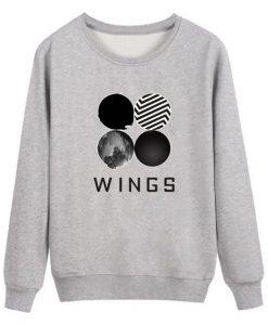 BTS Wings Classic Sweatshirt ZNF08