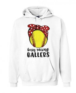 BUSY RAISING BALLERS HOODIE ZNF08
