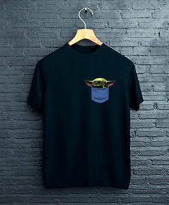 Baby Yoda Pocket T-Shirt ZNF08