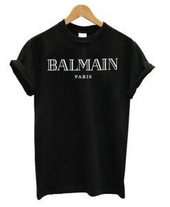Balmain Logo Print T shirt ZNF08