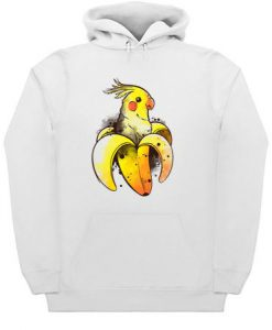Banana Parrot Hoodie ZNF08