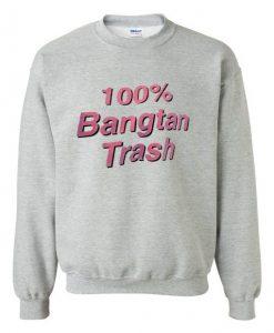 Bangtan Trash Sweatshirt ZNF08