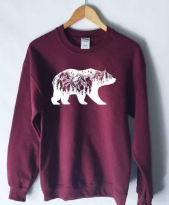 Bear Mountains Sweatshirt ZNF08